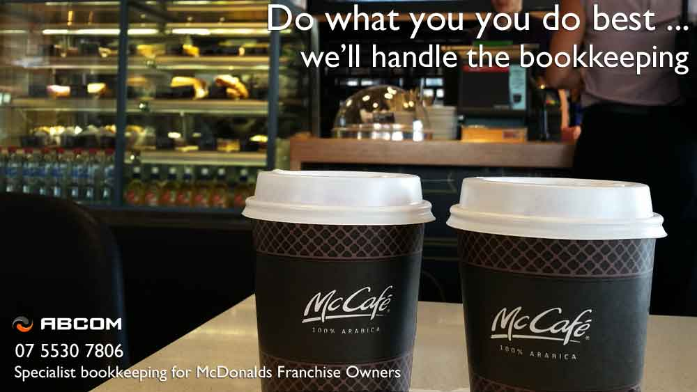 mcdonalds franchise bookkeeping services