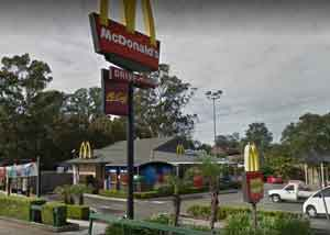 mcdonalds quakers hill nsw